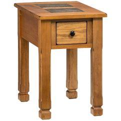 Oak Furniture Land Living Room Sets Clean Slumberland | Rustic Ridge Chairside Table