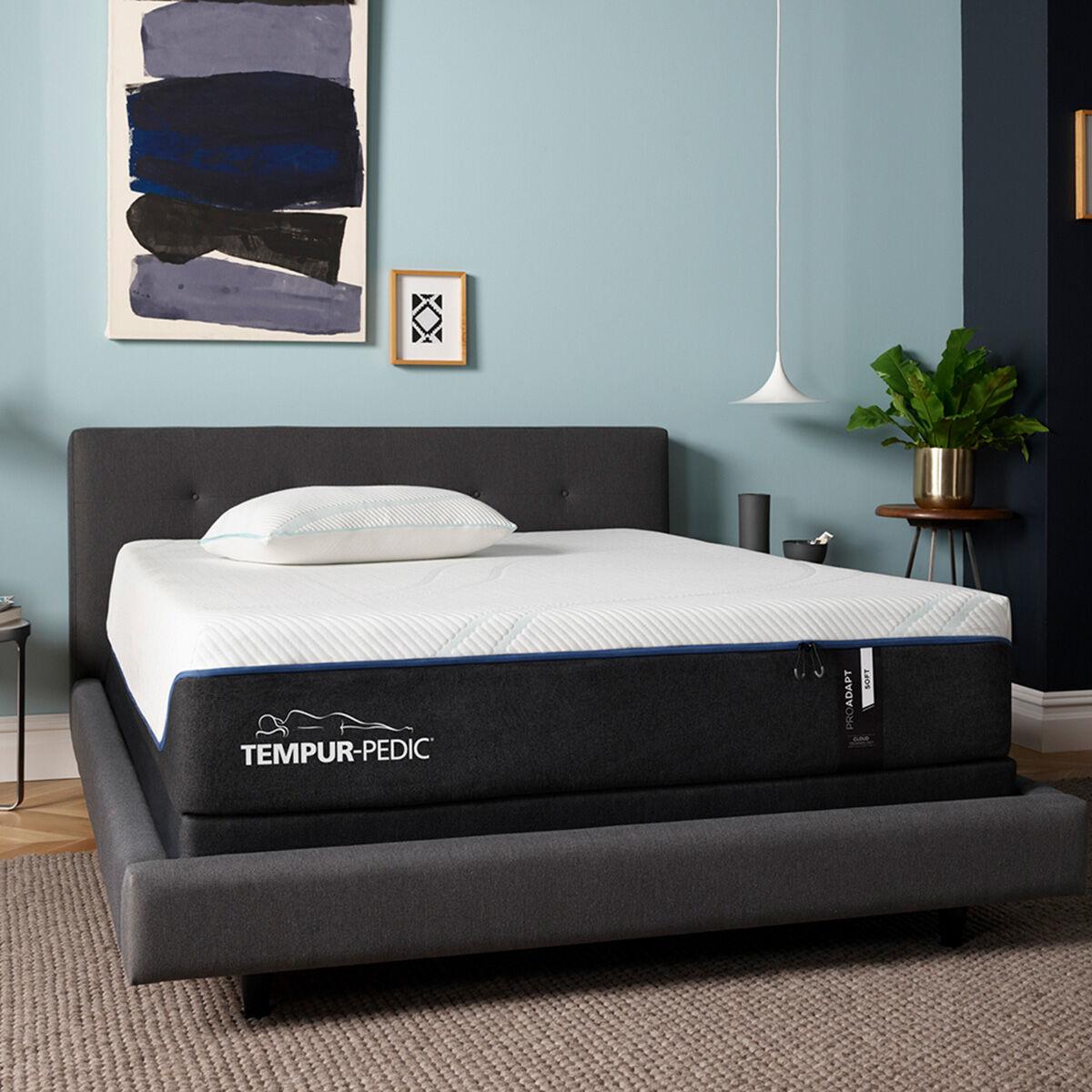 Slumberland Furniture  TempurPedic Pro Adapt Soft Queen