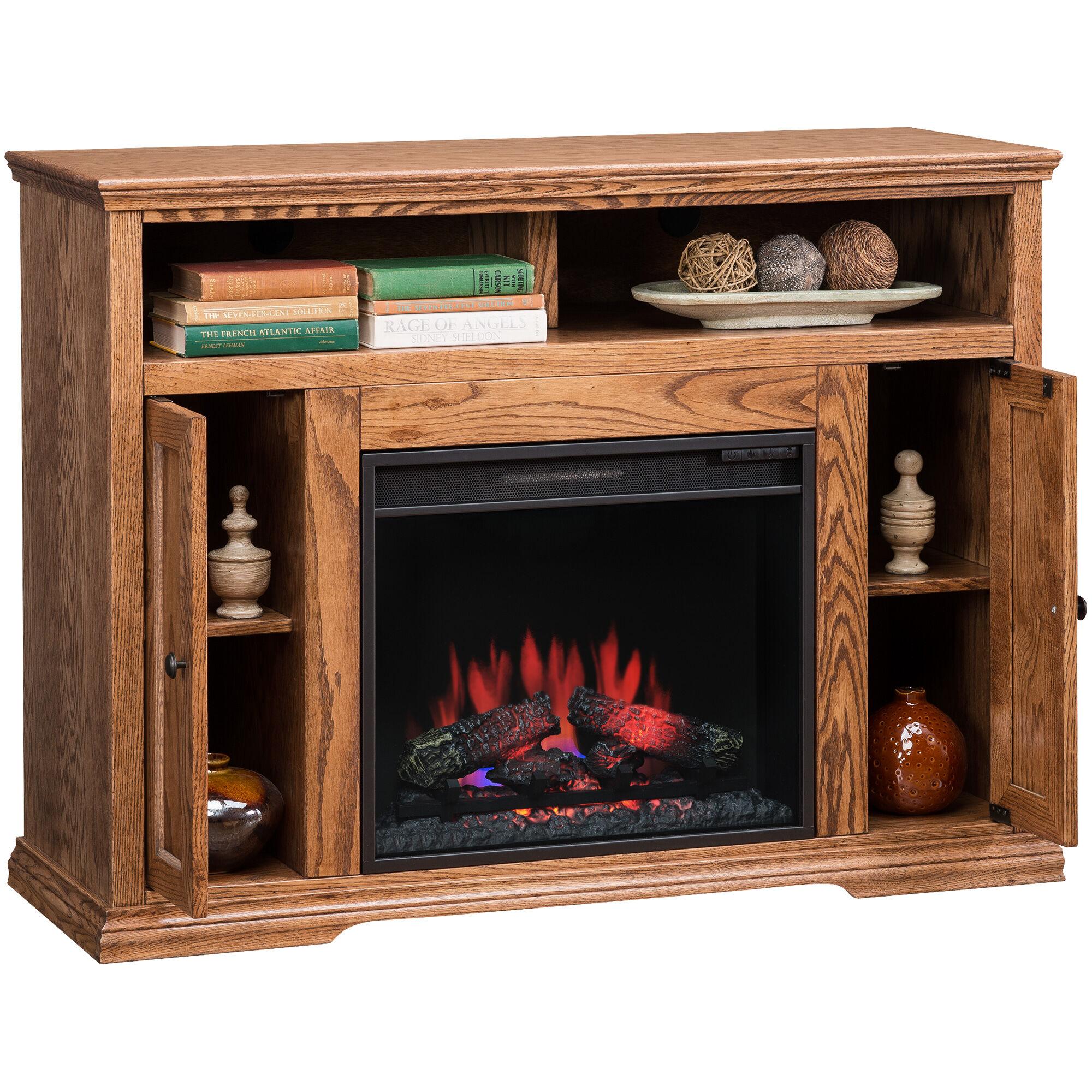 Slumberland Furniture  Chambers Golden Oak 48 Inch