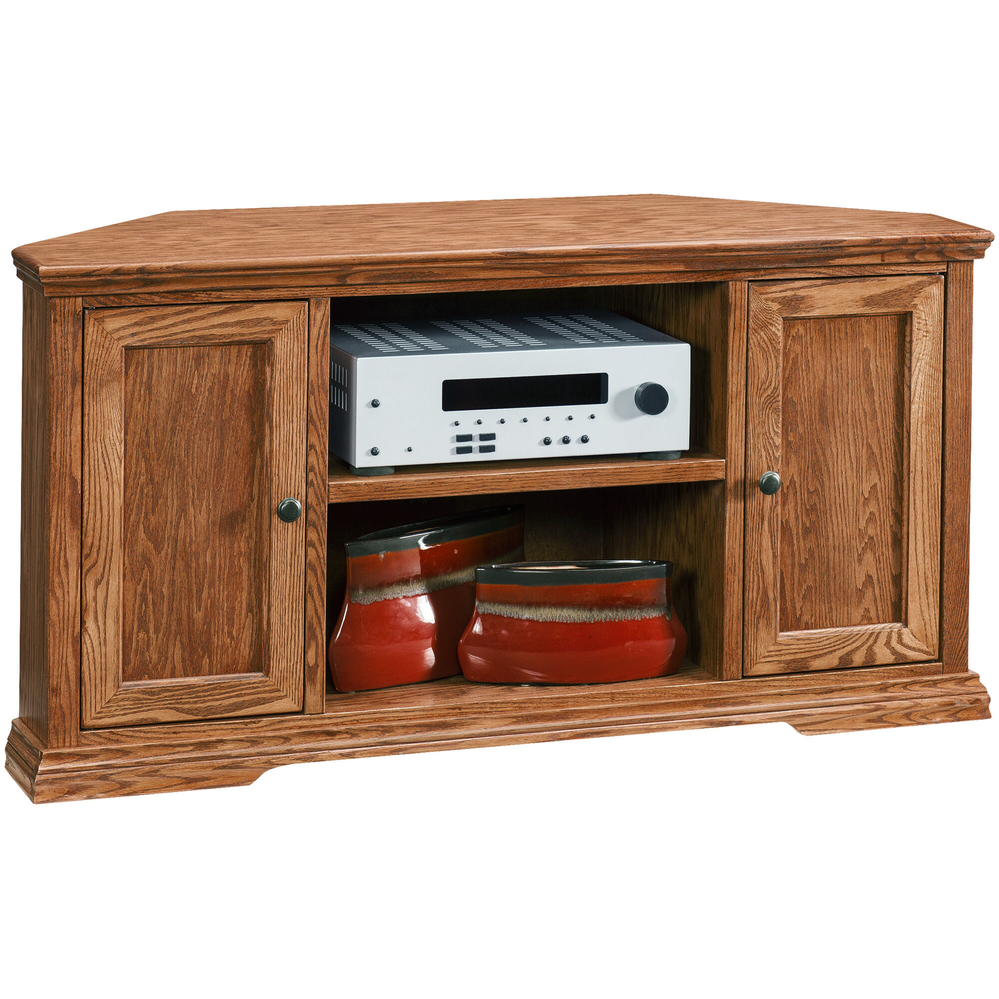 Slumberland Furniture  Chambers Golden Oak 49 Inch Corner