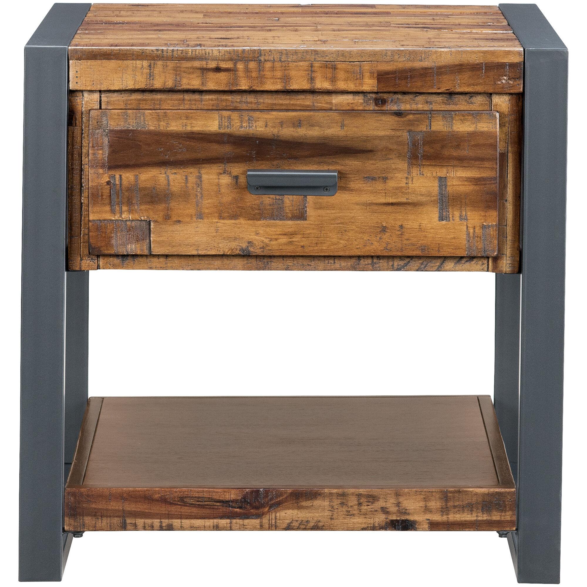 Slumberland Furniture Loftworks 1 Drawer End Table