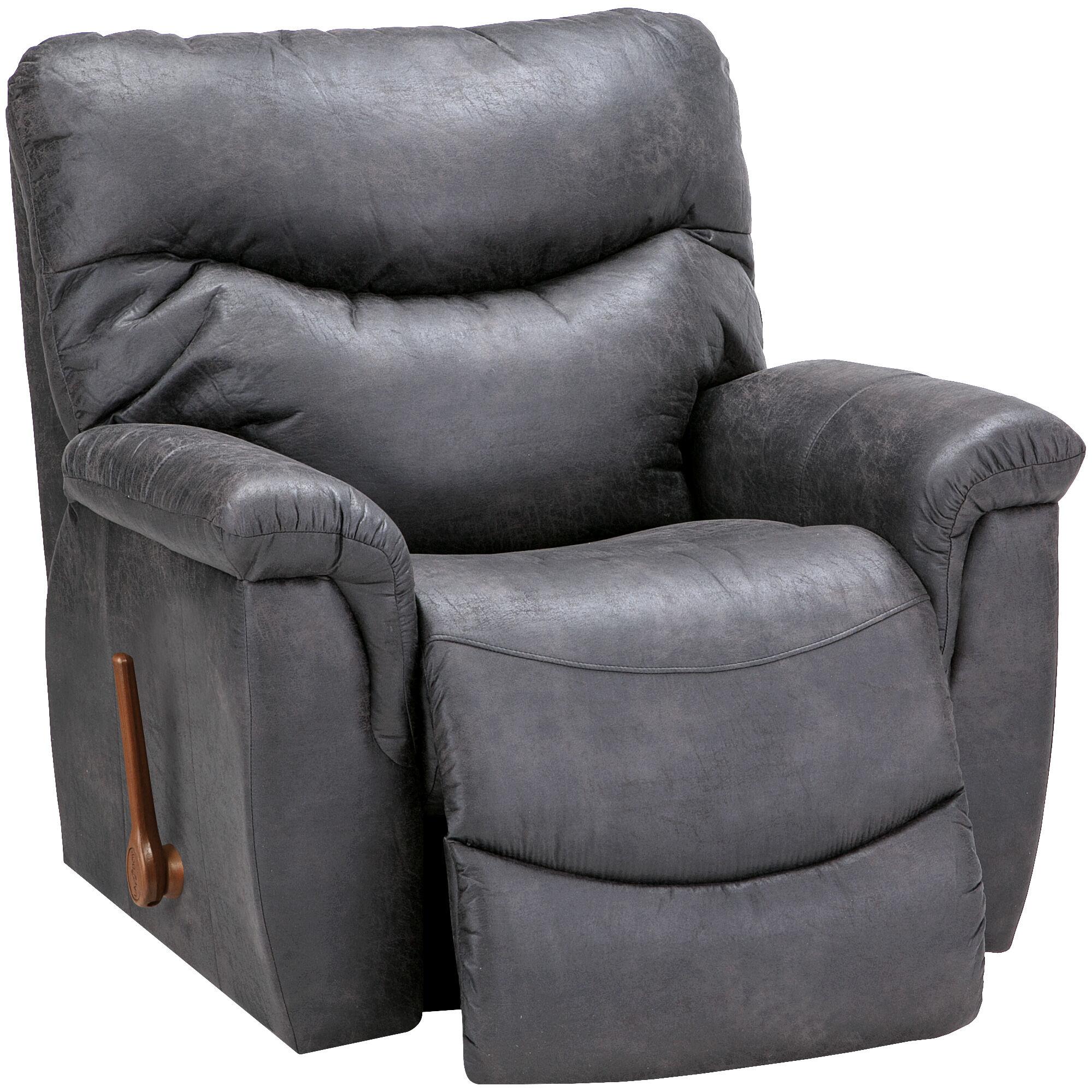 Slumberland Furniture  LaZBoy James Steel Rocker Recliner