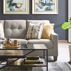 Living Room Furnitue Decorating Ideas With Gray Walls Slumberland Furniture Rooms The Genova Collection