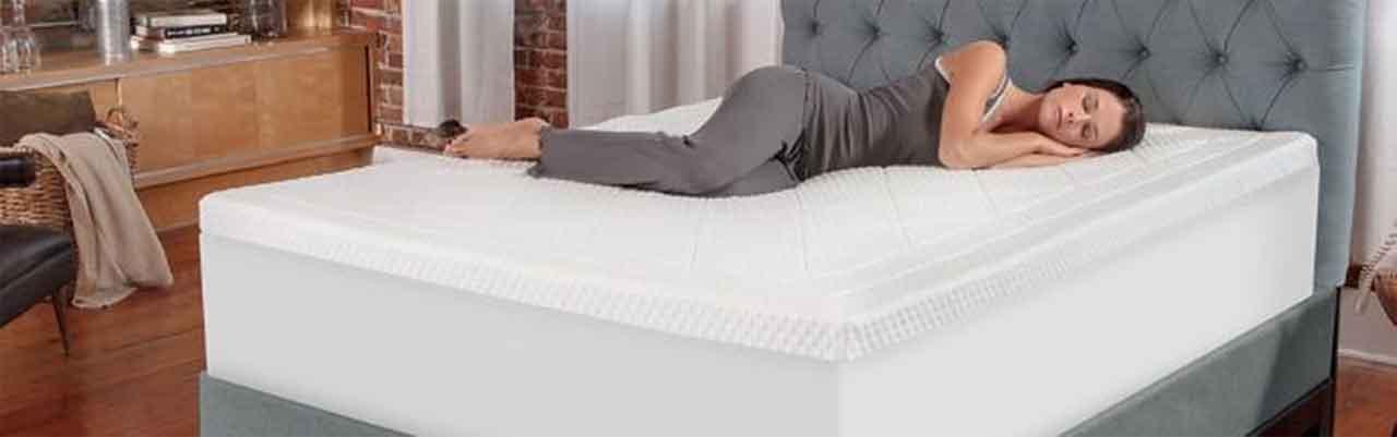 therapedic mattress topper reviews