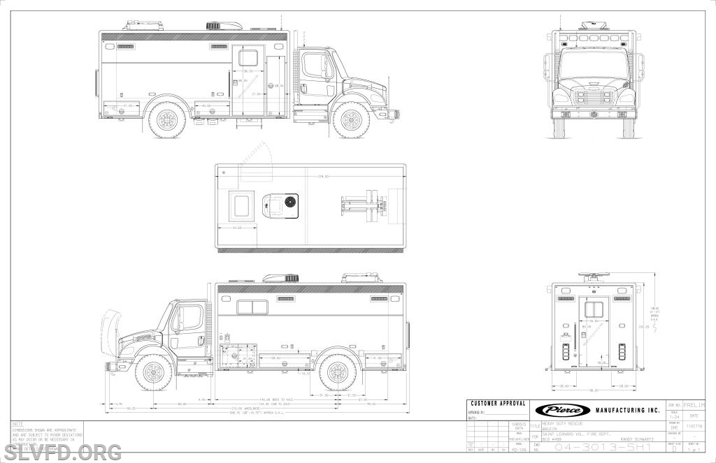 SLVFD Places Order for Mass Casualty/New Rehab Unit