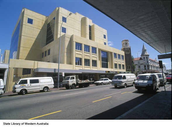 215424PD: Australian Taxation Office, 45 Francis St. Northbridge, c1995