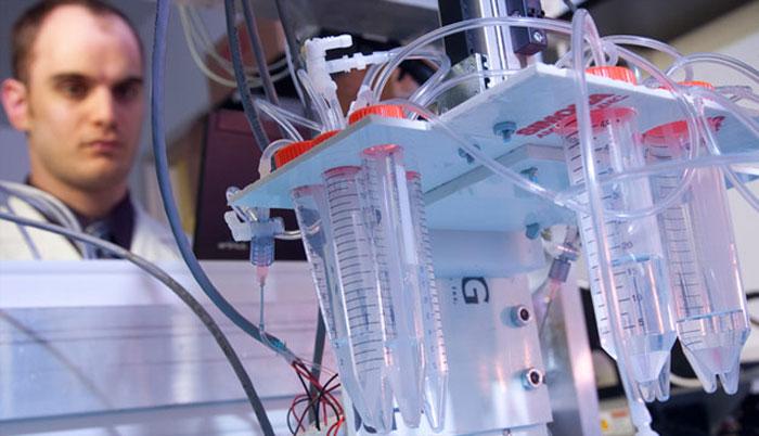 Hautzellen direkt aus dem Drucker