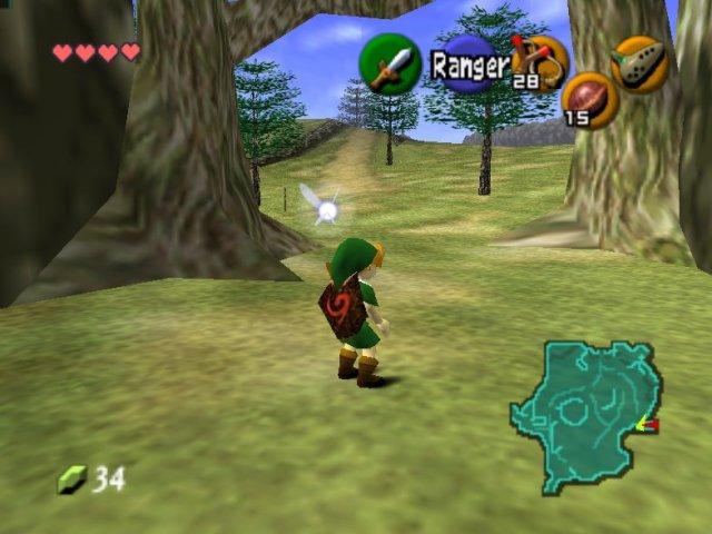 Legend of Zelda - ocarina of time