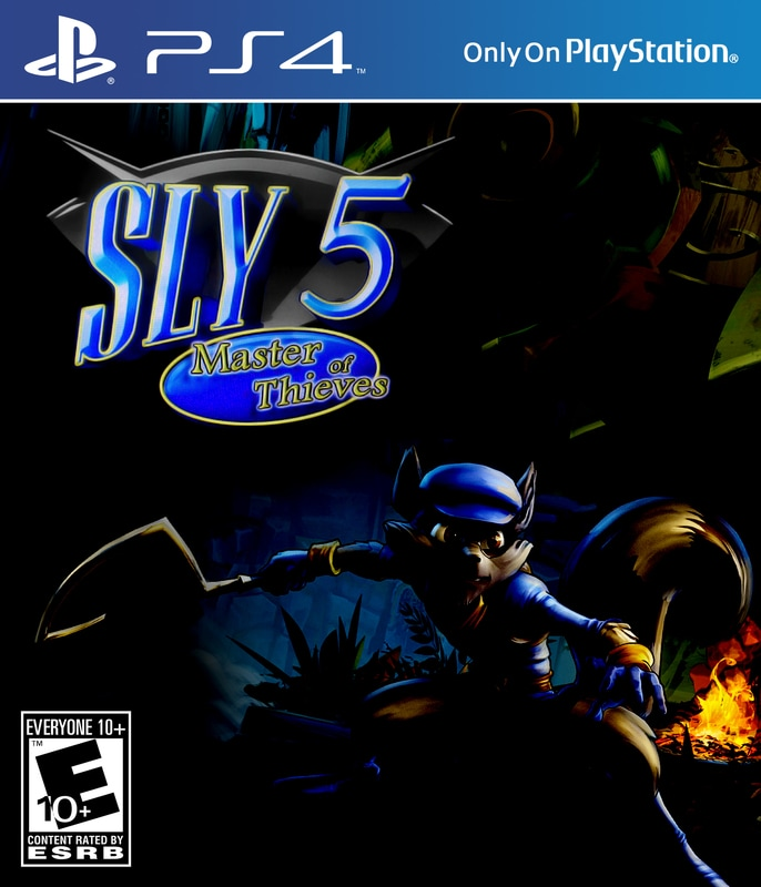 sly cooper movie photos