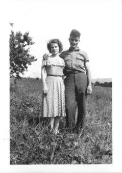 Aunt Marietta and Dad