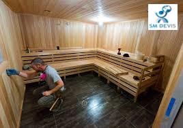 SM DEVIS Installation sauna