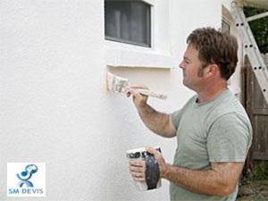 sm devis Peindre une façade 1