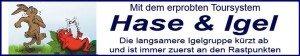 Toursystem Hase & Igel