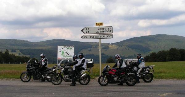 Motorradtour 3 Tage Südvogesen