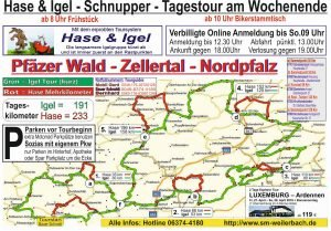 Saison Eröffnungstour Nordpfalz