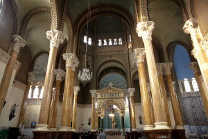 Renovated interior of St Mark's