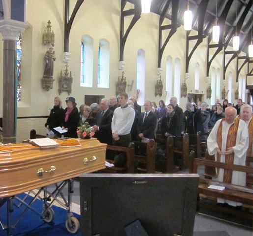 Fr Tom's family recite the Our Father