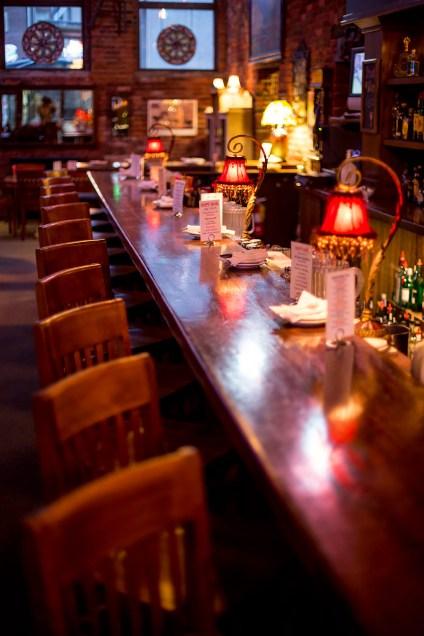 Bar at Vintage Cafe, Everett