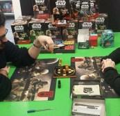 dimostrazione in negozio gioco star wars