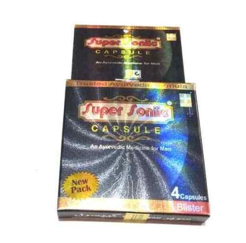 Super Sonic Capsule For Men Sexual Power Stamina Pill