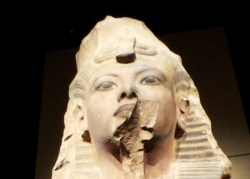 Statue of King Tutankhamun - Closeup