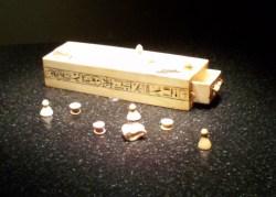 Game Box for Senet and Tjam