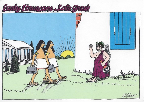 Funny Greek Postcard