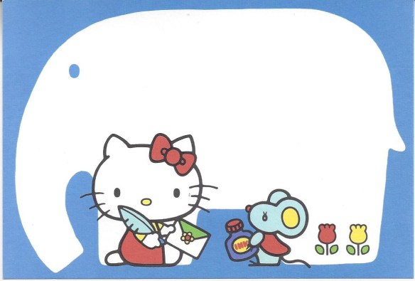 Hello Kitty Postcard