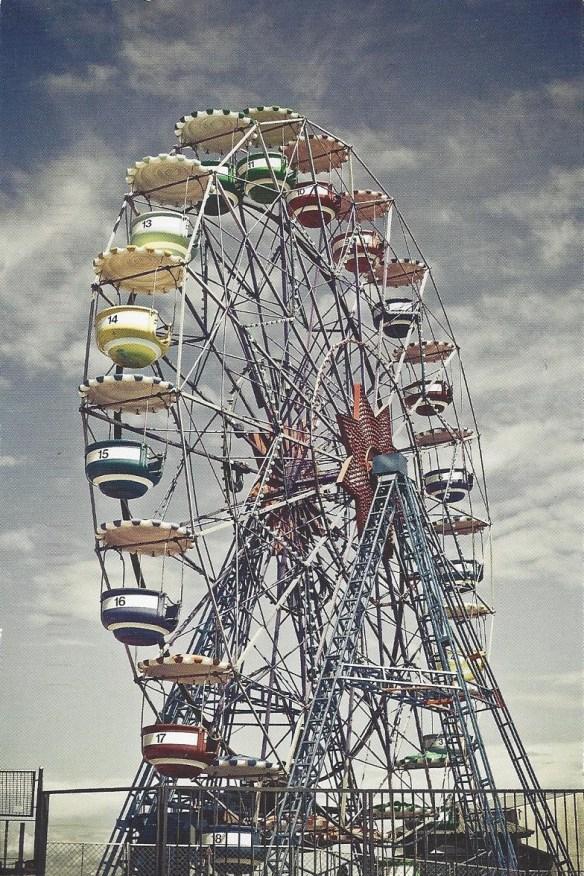 Carnival Ride Postcard