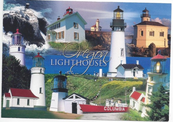 Oregon Lighthouses POstcard
