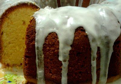 Сирно-лимонний кекс