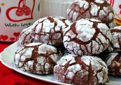 """Печиво """"Шоколадні тріщинки"""""""