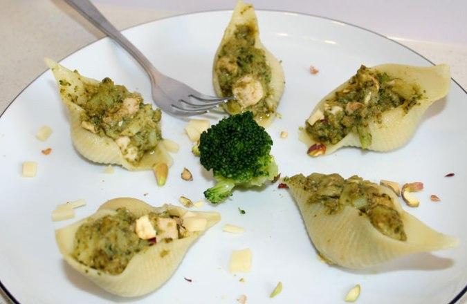pesto z brokułami