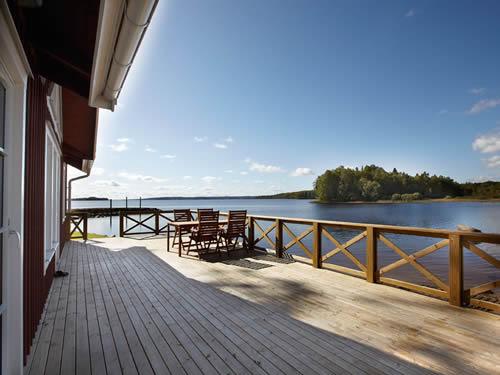 Smaland Ferienhaus am See mit Sauna Haus Bullerb