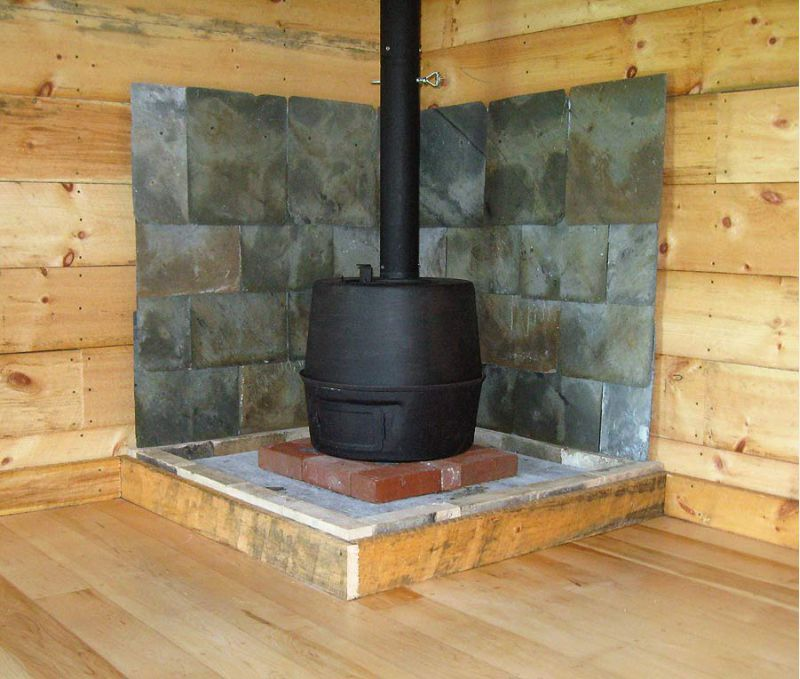 Small Cabin Wood Stove Setup  Small Cabin Forum 7