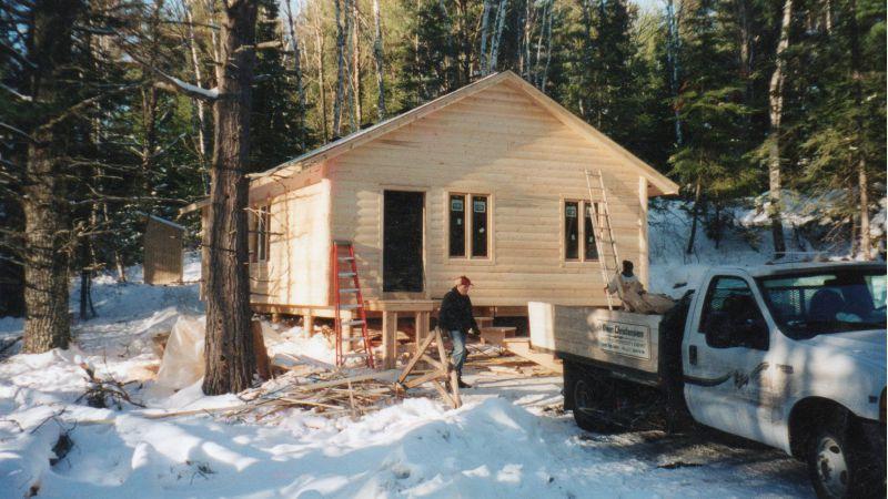 6x6 as beams  Small Cabin Forum