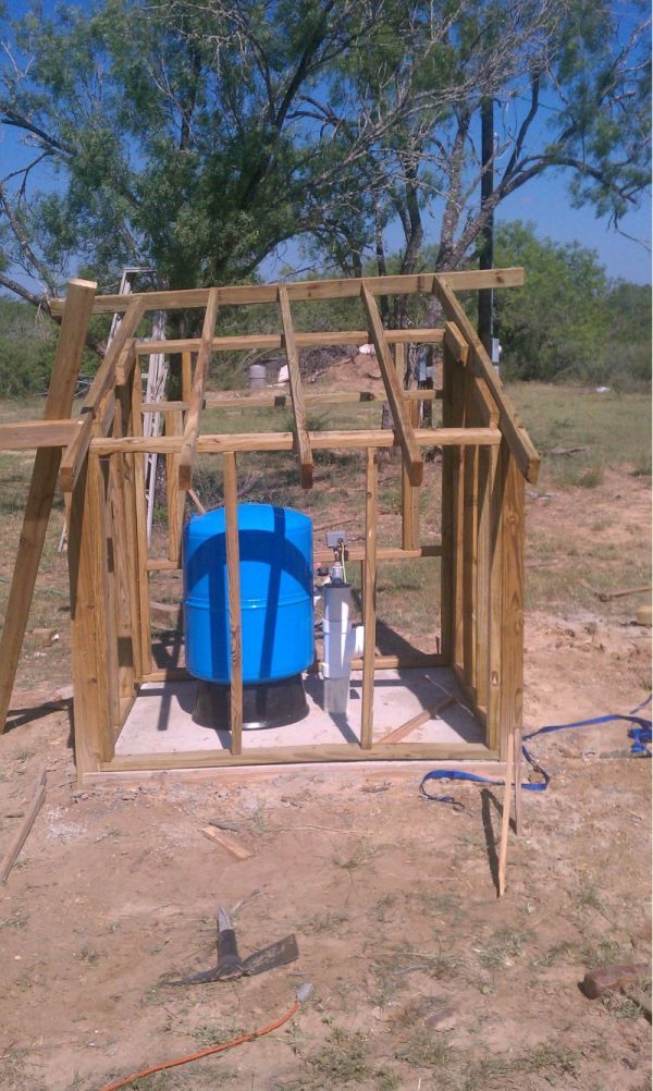 Water Well Pump House Sheds Plans