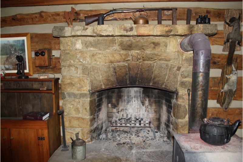 chimney and wood stove  Small Cabin Forum