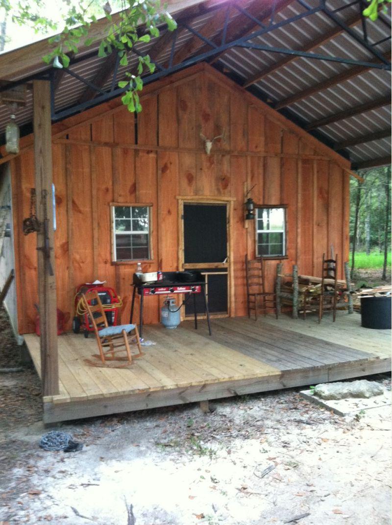 Pole Barn CabinShop  Small Cabin Forum