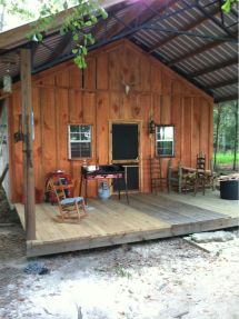 Pole Barn Cabin - Small Forum