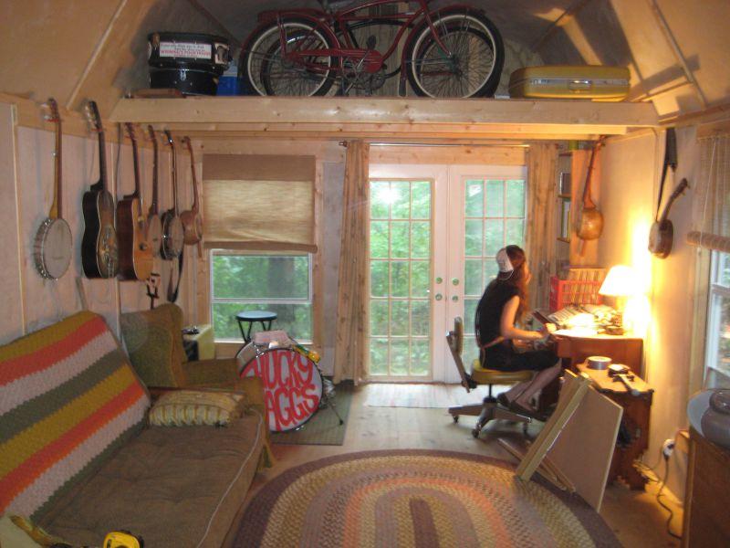 12 x 32 Derkson Side lofted  Small Cabin Forum