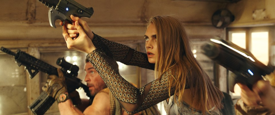 More of Cara Delevingne please valerian