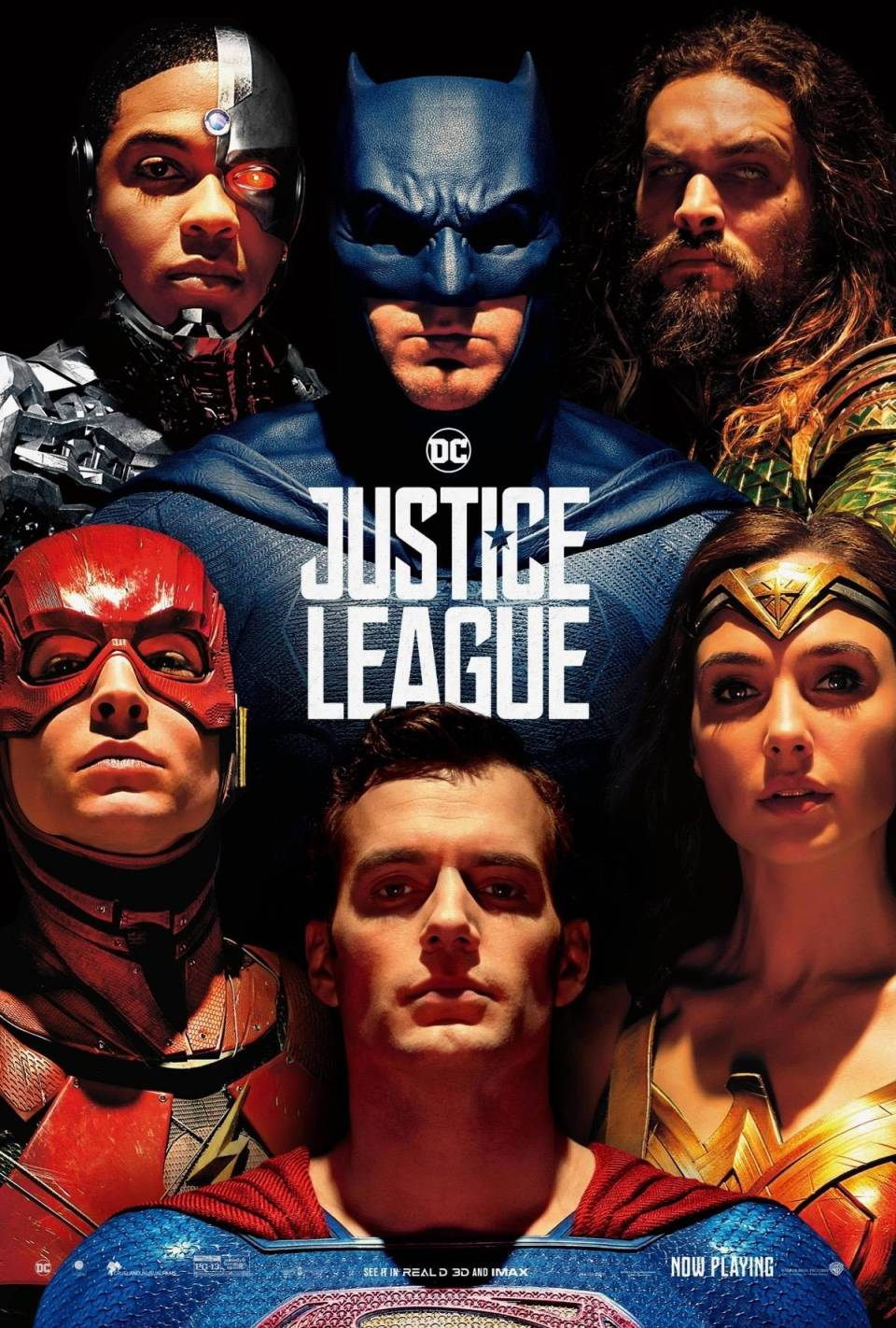 Justice League's New Poster Finally Adds Superman Into The Mix