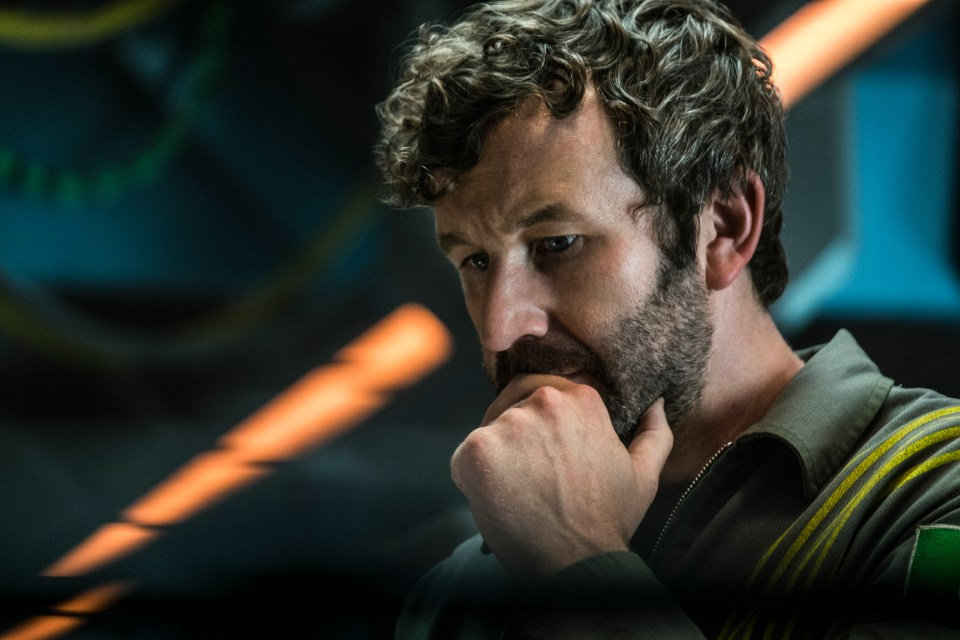 Chris O'Dowd as Mundy in The Cloverfield Paradox