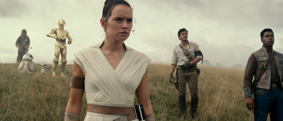 Get to watch Star Wars: The Rise Of Skywalker before your mates
