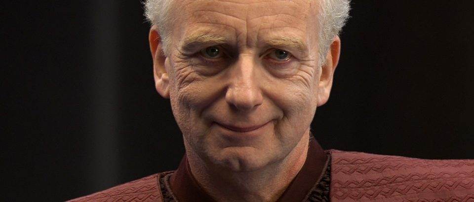 Could Matt Smith be playing Palpatine somehow?