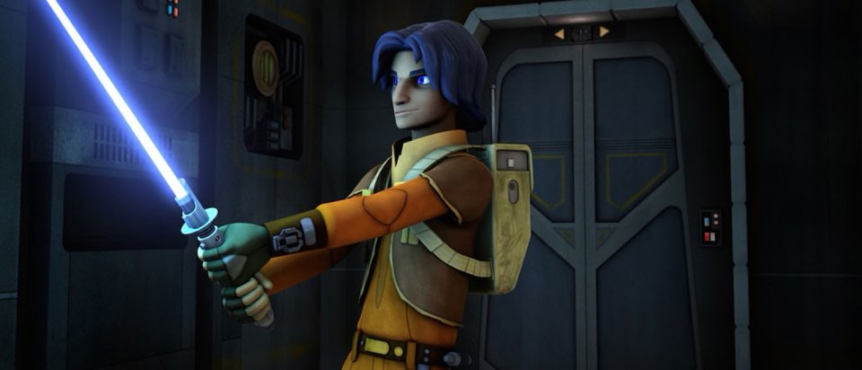 Ezra Bridger was from Star Wars Rebels