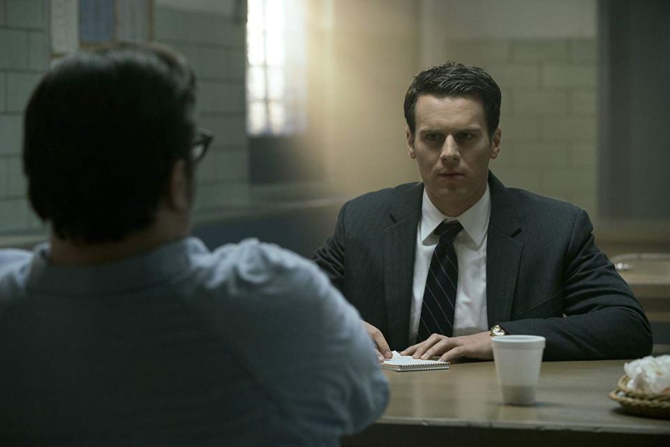 Jonathan Groff in Mindhunter Season 2