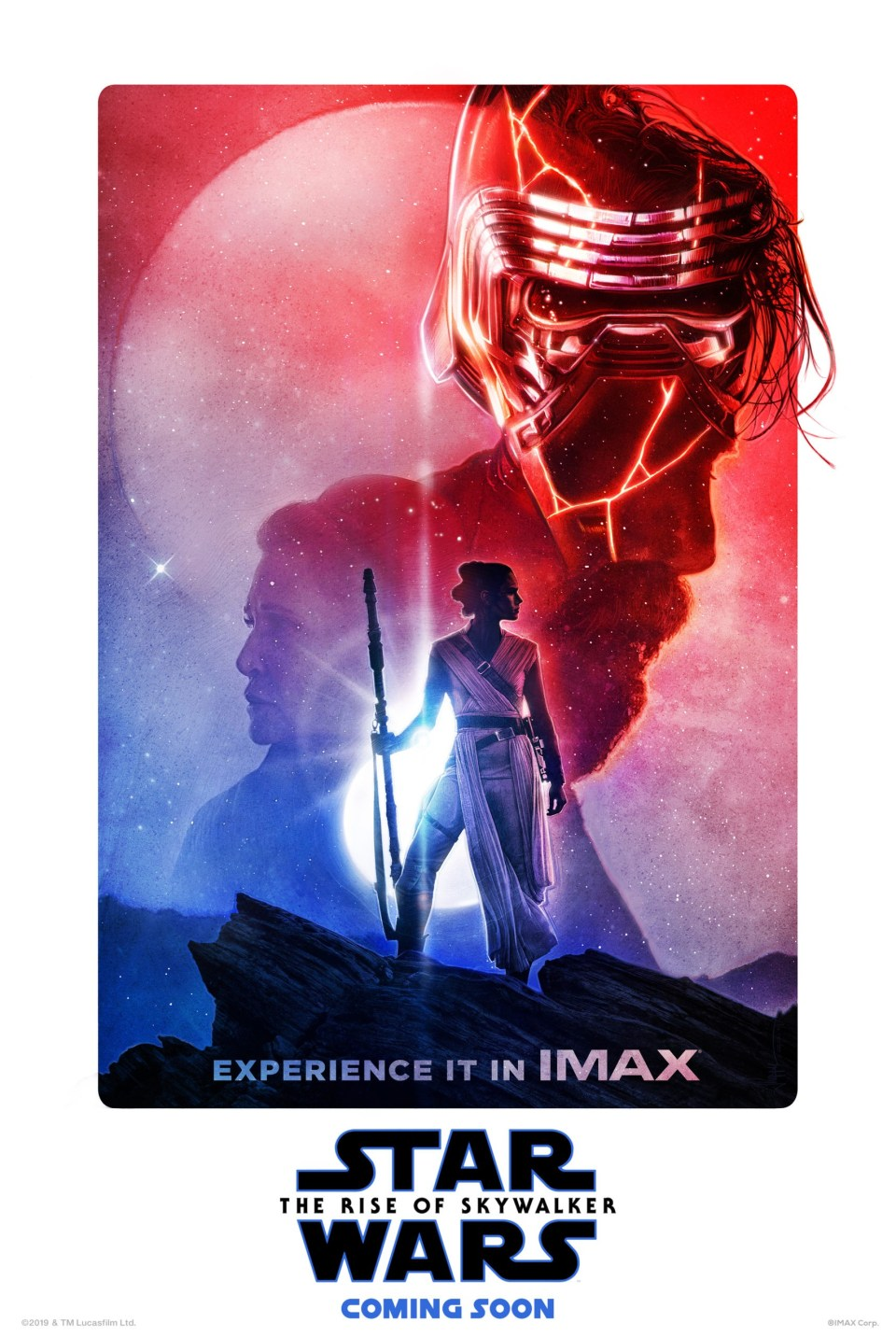 Here is Star Wars: The Rise Of Skywalker's IMAX poster