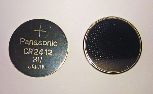 CR2412 Lithium Button Cell Batteries To Fit Film Watches Battery Equivalent To DL2412 BR2412